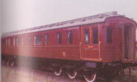 LNWR Royal Train carriage