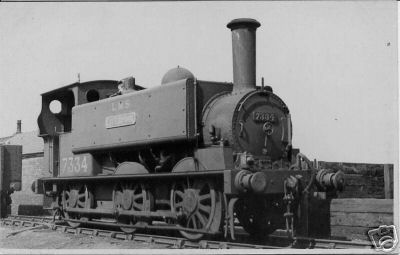 Locomotive 7334