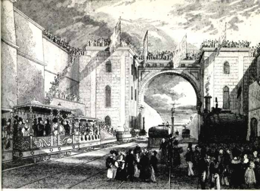 Opening day of the Liverpool and Manchester Railway III