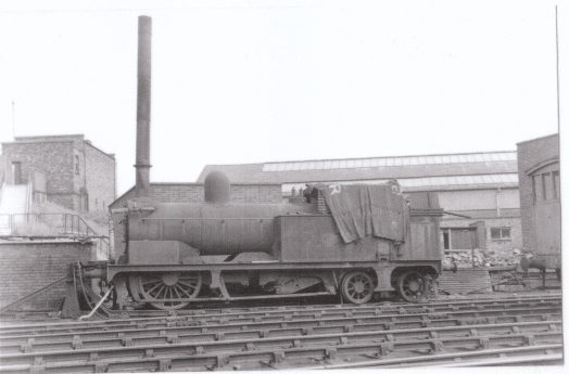 Engine on siding
