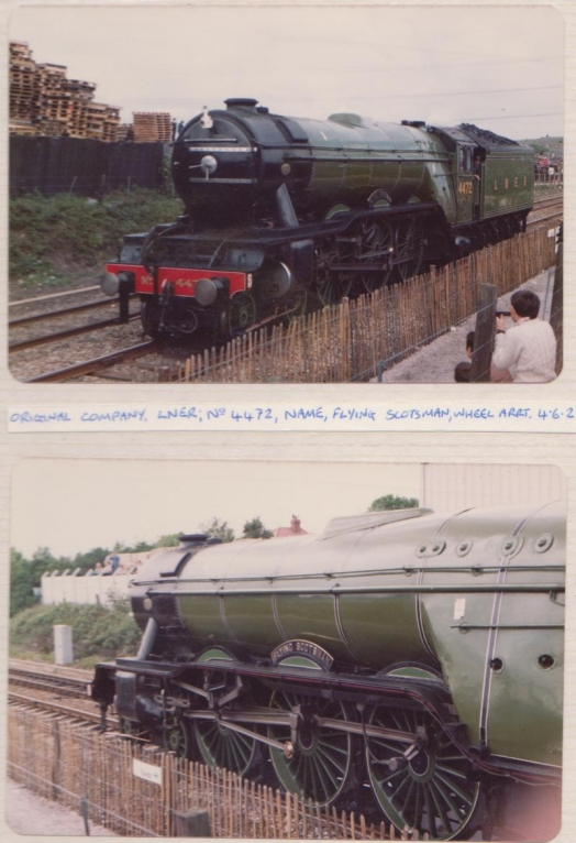 Flying Scotsman at Rocket 150