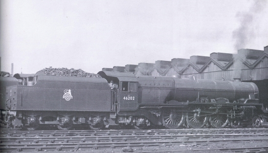 Locomotive 46202