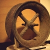 Small pulley wheel from Chatsworth Street Cutting