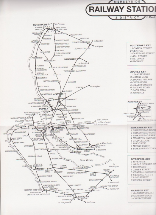 Merseyside stations network