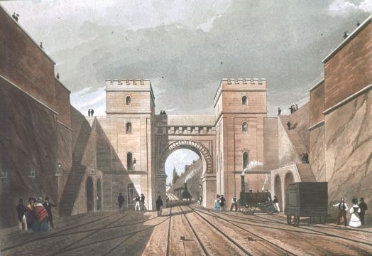 Moorish Arch, Looking from the Tunnel II