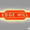 Edge Hill logo produced by Metal