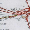 Map of Edge Hill