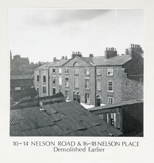 10-14 Nelson Road & 16-18 Nelson Place demolished earlier