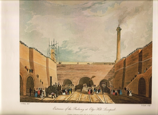 Entrance of the Railway at Edge Hill, Liverpool