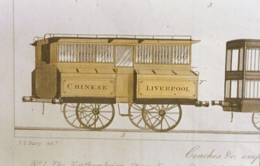 Liverpool and Manchester Railway Chinese coach