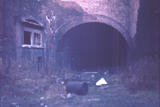 Wapping Tunnel and Park Lane goods yard 1974