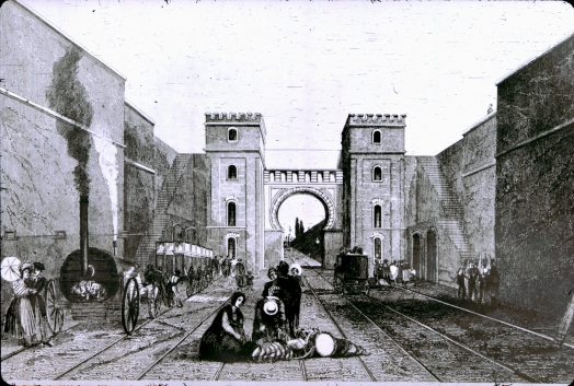Moorish arch based on Bury print II