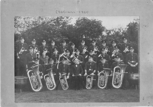 Edge Hill brass band 1950
