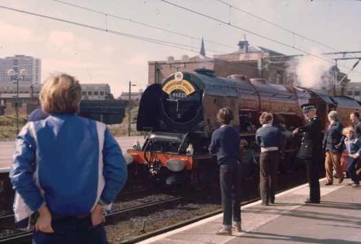 Duchess of Hamilton at Edge Hill 1980