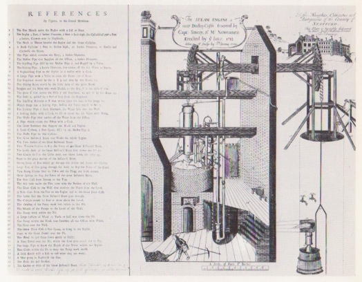 Thomas Newcomen's steam engine