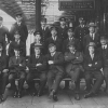 Staff of Edge Hill Station circa.1925