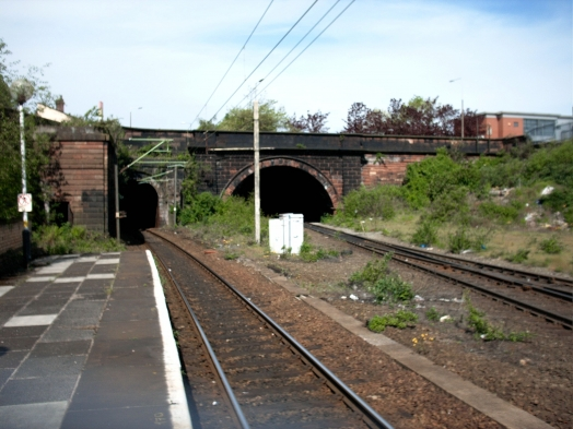 View from the Edge Hill platform