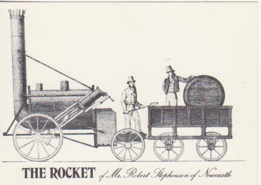 The Rocket of Mr. Robert Stephenson of Newcastle