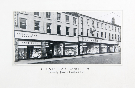 County Road branch 1959 formerly James Hughes Ltd.