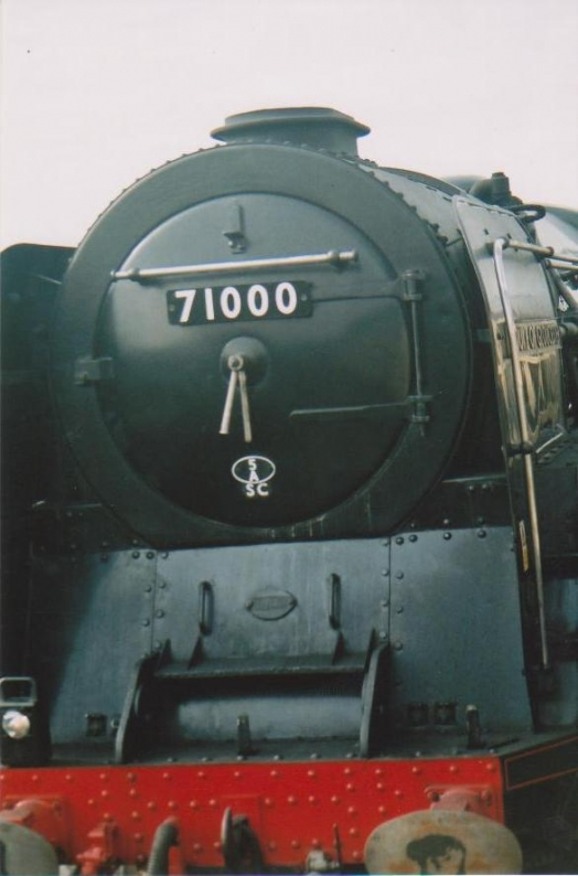 Close-up of Duke of Gloucester