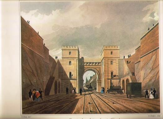 Moorish Arch, Looking from the Tunnel