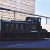 Train on Dock Road Waterloo Crossing 29071971 MDHB 37