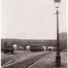A photograph of the coal yard at Edge Hill Station