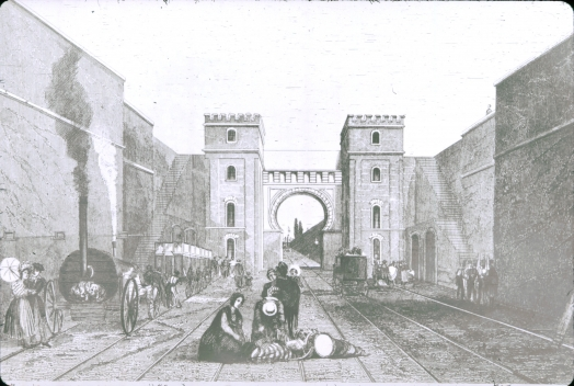 Moorish Arch based on Bury print