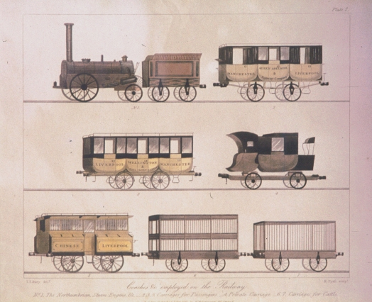 Liverpool and Manchester Railway rolling stock