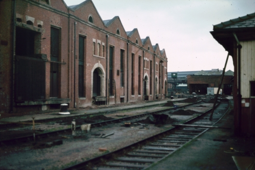 Liverpool Road warehouses and departure shed