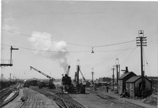 Rathbone Road Goods Yard 1959
