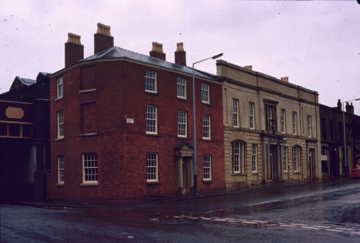 Liverpool Road frontage 1983
