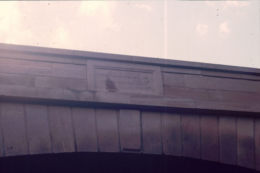Datestone on Skew Bridge