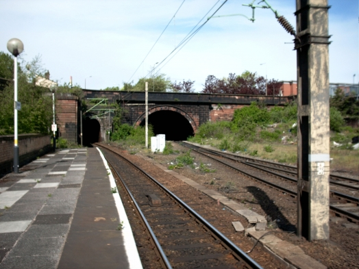 Longer view from the Edge Hill platform