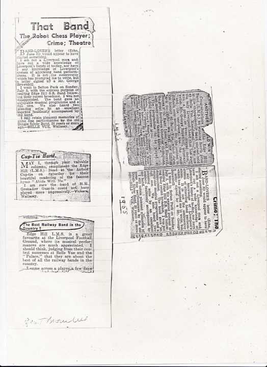 Newspaper cuts 1